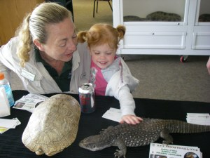 Endangered Species Day 2016 Annette and Clara photo by M Gass