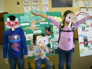 Endangered Species Day 2016 mask making M. Gass photo