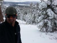 snowshoe lake views