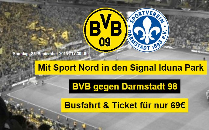 Match: Dortmund vs. Darmstadt