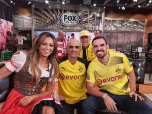 With Kate Abdo