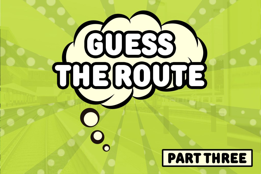 Guess the route part 3