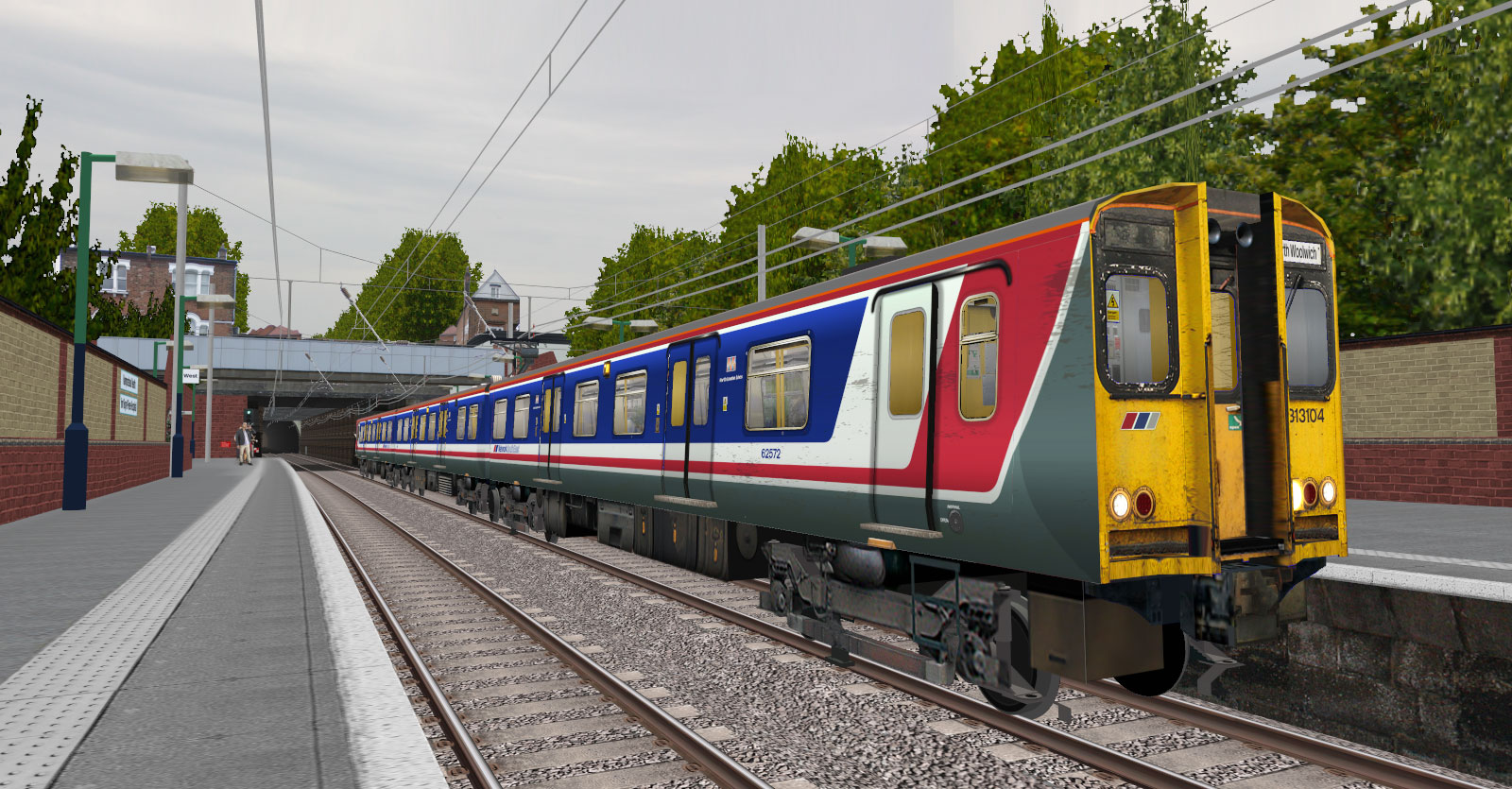 Network South East Livery