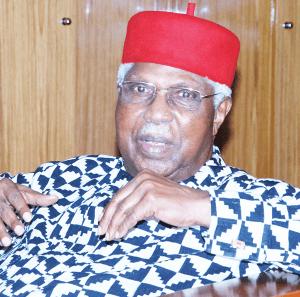 BREAKING: Ex-VP, Alex Ekwueme dies