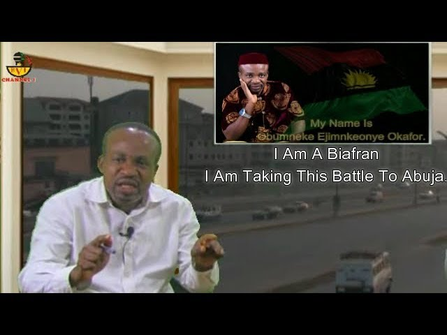 VIDEO!!! I Am A Biafran & I'm Taking This Battle To Abuja – Obumneke Explodes