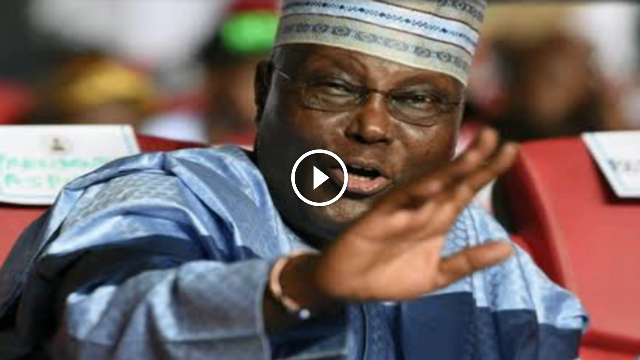 Breaking Video!!! Atiku: Full Response Opens Can Of Worms – Nobody Is A Nigerian