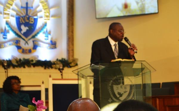 Pastor Calvin Mills