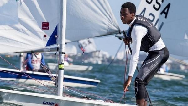Thad Lettsome in action in Miami Photo: Matias Capizzano