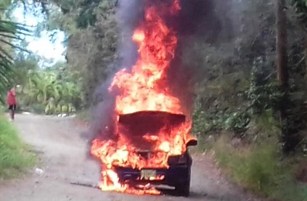 car-on-fire