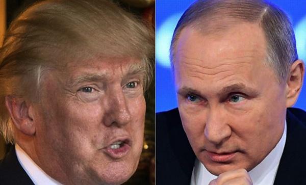 US President Donald Trump and Russian President Vladimir