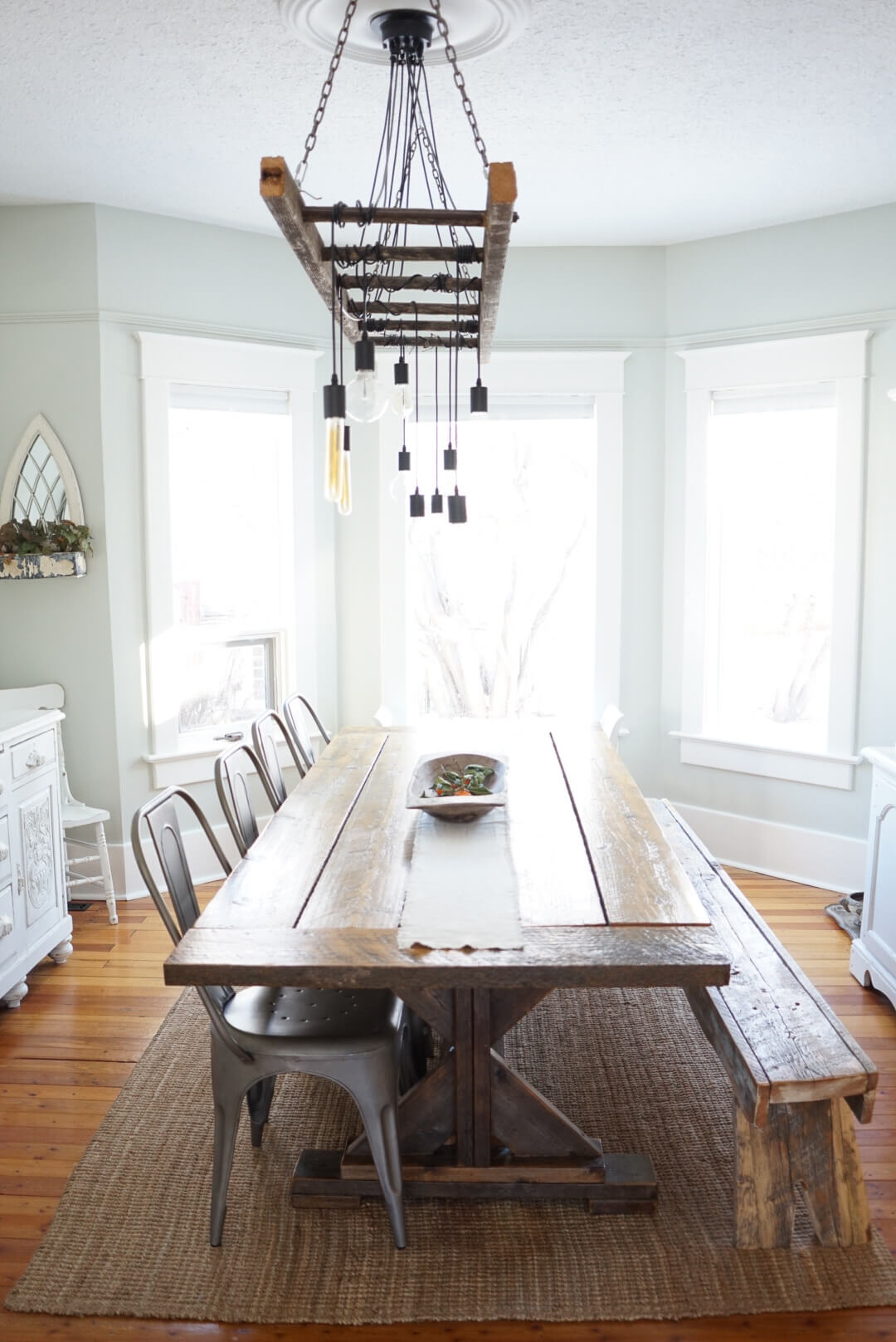 How to make a diy industrial edison bulb chandelier b vintage style how to make a diy industrial edison bulb chandelier arubaitofo Choice Image
