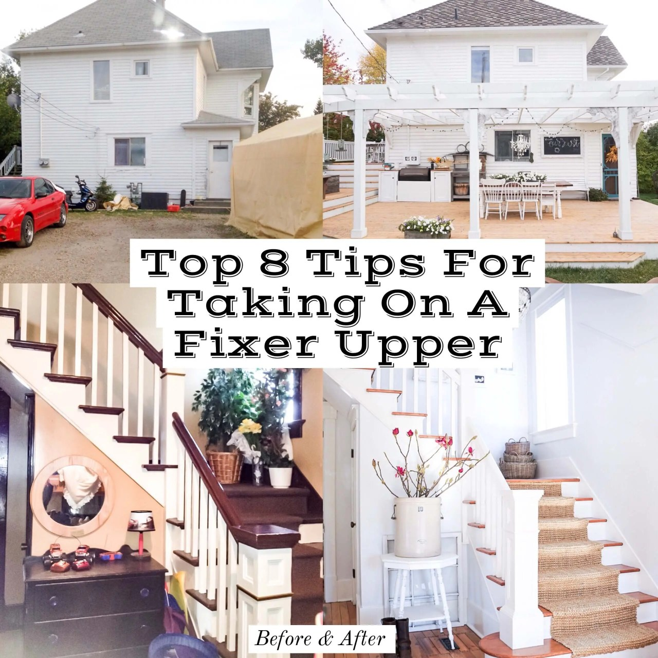 Top 8 Tips For Taking On A Fixer Upper