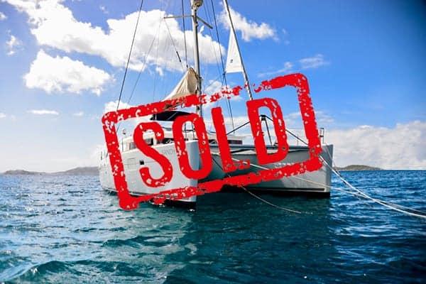 Lagoon 450 sold