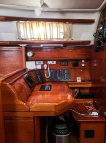 Bavaria 42 Cruiser Miss B'Haven-41 nav
