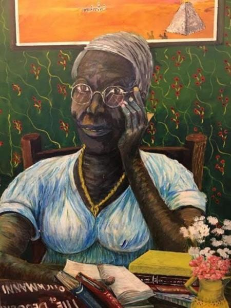 Ira Watkins painting