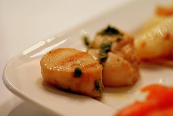Plate 01 (Grilled Scallops)