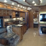 All New 2014 Tiffin Allegro 37AP Bus - All New Design! Kitchen Area Big Slide