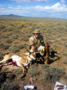 Ace with his 2013 Pronghorn from the Juniper Hunt Unit in Oregon. A well earned dandy Lope!