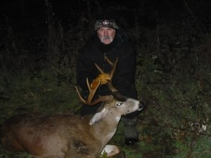 Dandy 3 X 3 Columbia Blacktail buck from west Clackamas County.
