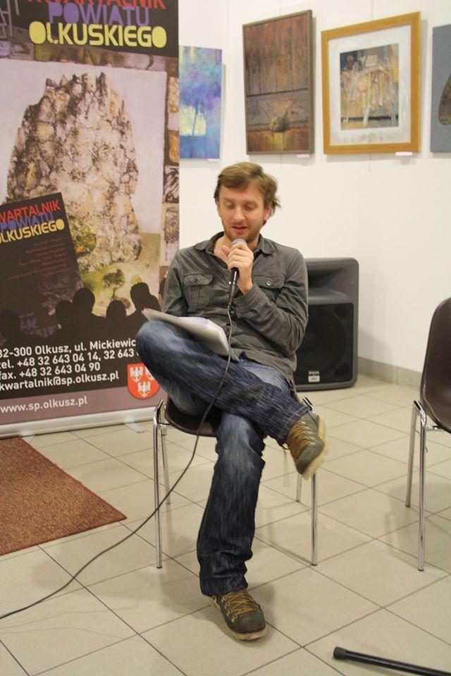 Bartosz Konstrat laureat I m w OKP im. Ratonia