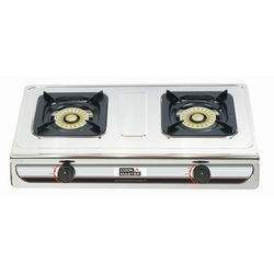 1 and 2-Burner Propane stove Electric Revolving Button Ignition for Match-free starting 100% successful shots. Nicely and carefully burner allows high efficiency of heat Though stainless steel sheet metal construction. Does not include hose and regulator