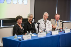 Virginia Wagg, second from left, is a participant in the Nurses' Health Study.