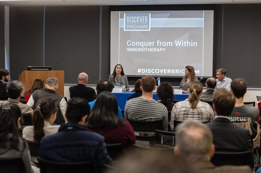 Panelists discussed FDA-approved treatments for cancer and other applications for immunotherapy