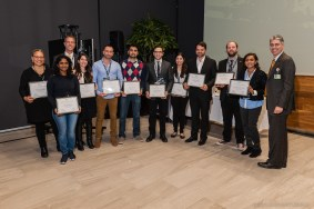 Research Excellence Awardees were honored at Discover Brigham.