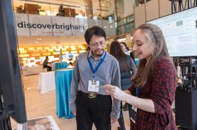 Discover Brigham attendees