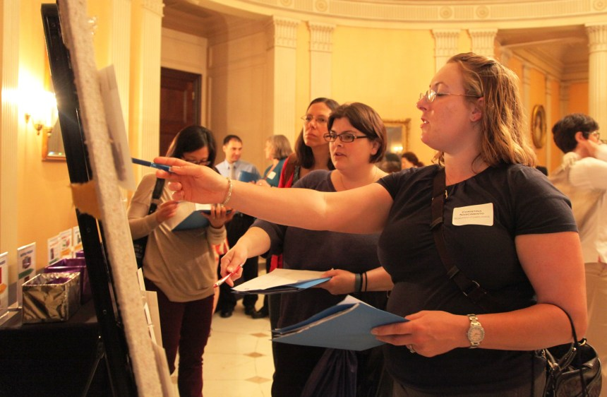Along with keynote presentations and sessions covering topics such as clinical trials management, human resources case studies and the grant management process, attendees were encouraged to participate in activities throughout the day to win raffle tickets for various prizes. A photo quiz (shown here) tested attendees' knowledge of places in and around BWH.