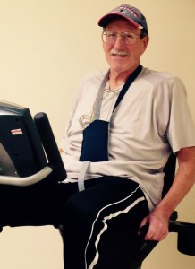 Cardiac Rehab Program patient Roy Prout
