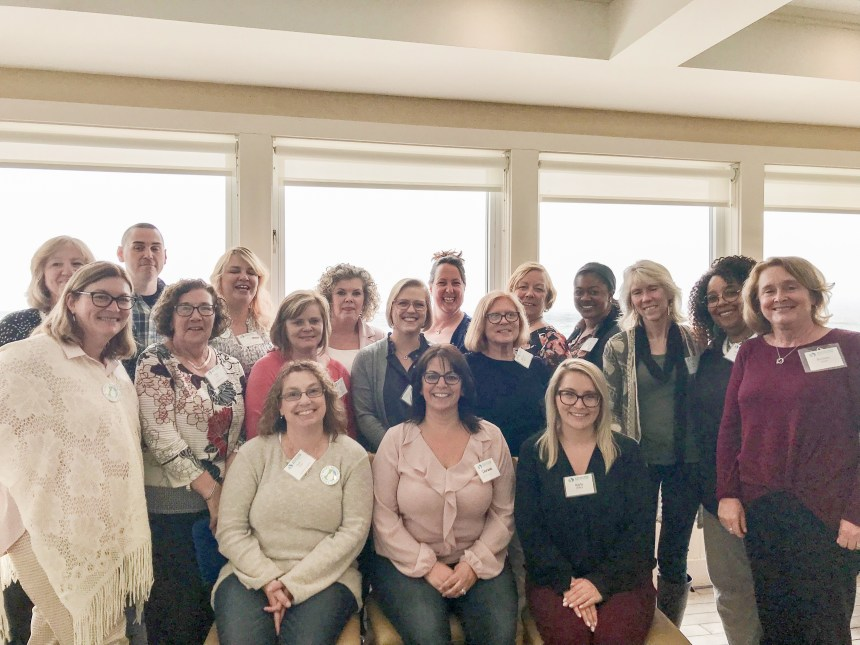 Current and former Brigham staff participate in the annual Massachusetts AWHONN Conference.