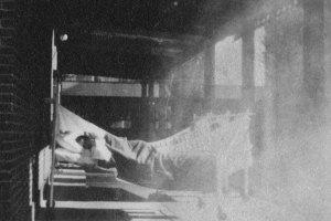 Flu tent in 1918