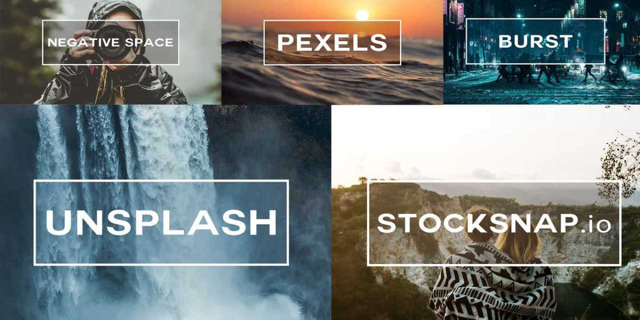 The Top 5 Free Stock Photo Sites
