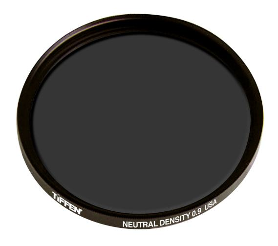 A circular ND which screws onto the front element of your lens
