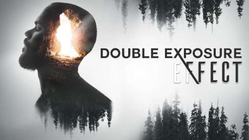 double exposure effect, photoshop effect, how to