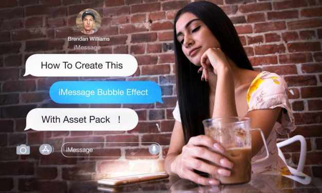 How To Create iMessage Bubbles In Photoshop + Asset Pack!