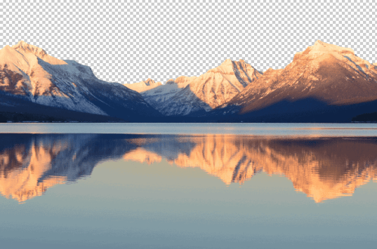 cut out an image with the quick selection tool
