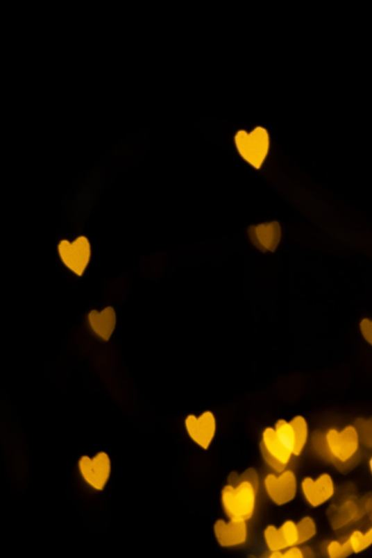 how to make heart shaped bokeh