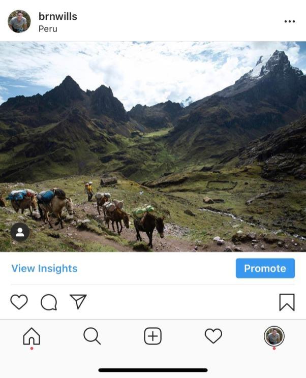 landscape crop on instagram