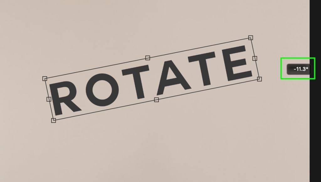 rotate-scale-flip-text-in-photoshop-4