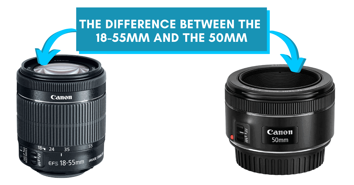 What Is The Difference Between An 18-55mm And A 50mm Lens?