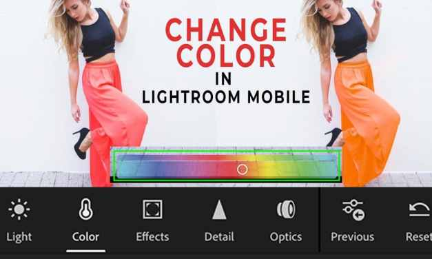 How To Change Color In Lightroom Mobile