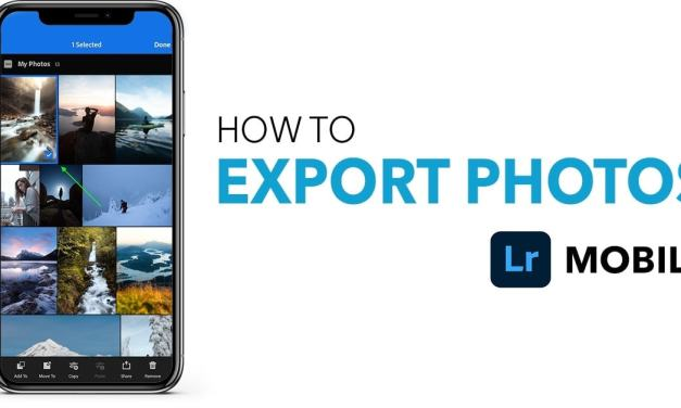 How To Export Photos In Lightroom Mobile