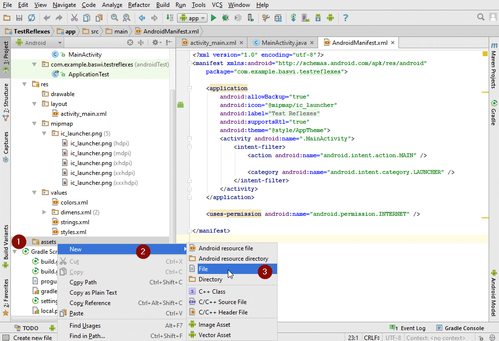 How to add HTML to an Android Application with Android Studio