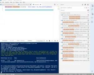 PowerShell Visual Studio Online