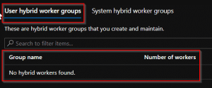 How to run scripts on a system Hybrid Worker in Azure Automation
