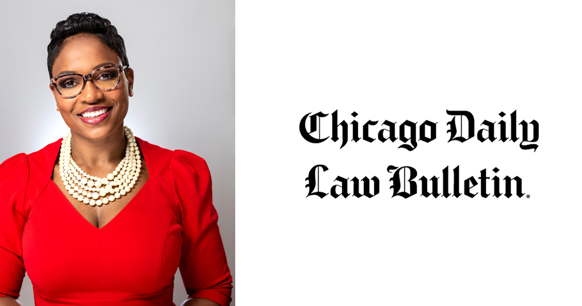 Chicago Daily Law Bulletin Covers BWLA Installation