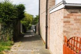 Narrow walkways