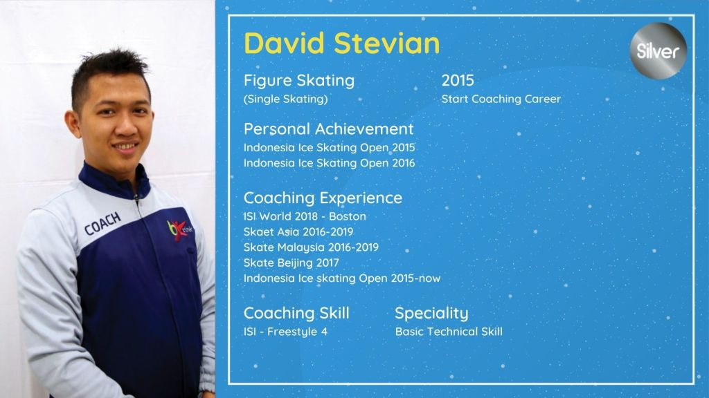 David Stevian, BX Rink Ice Skating Coach